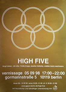 high five plakat
