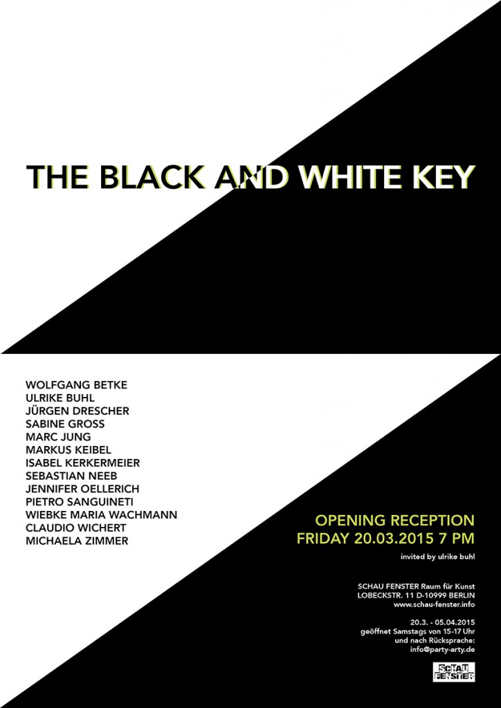 the black and white key